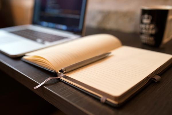 Book and Desk
