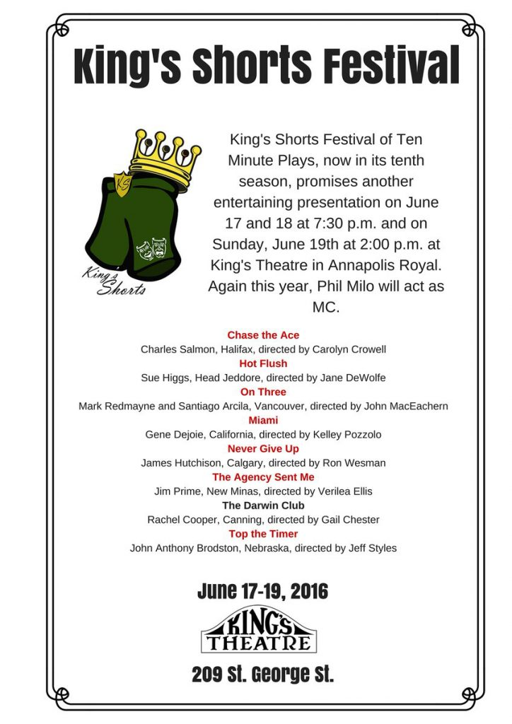 Kings Shorts 2016